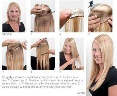 euronext hair extensions 58 best hair extensions before after images on
