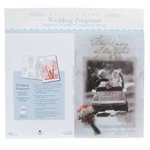 Wedding Program Paper Stock Invitations U0026 Programs