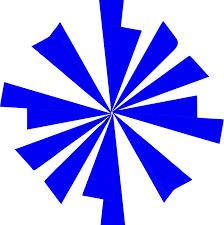 Starburst Design Clip Art Blue Starburst Clip Art At Clker Com Vector Clip Art Online