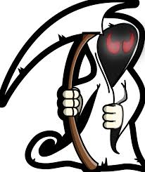 coloring grim reaper coloring pages