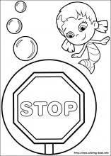 bubble guppies coloring pages mini coloring book bogdandesign