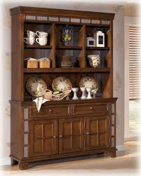 Oak Buffet And Hutch by Hutch Furniture Dining Room Furniture On A White Background