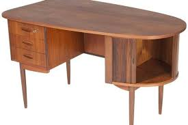Kidney Shaped Executive Desk Kidney Shaped Teak Desk Mid Century Modern Design