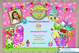 birthday invitation digital file
