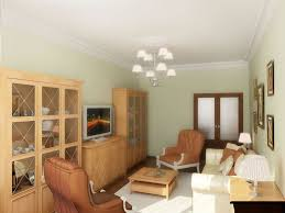Traditional Accent Living Room Canned Lighting Basement Traditional Accent Wall