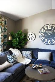 Navy Blue Sofas by 15 Lovely Living Room Designs With Blue Accents Navy Sofa