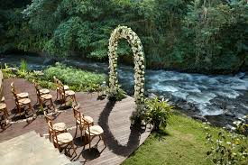 riverside weddings wedding venues in ubud bali mandapa a ritz carlton reserve