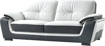 canape simili cuir 2 places ensemble de canapac 32 pvc noir et blanc canape discount cuir canapac cuir sina ensemble canape simili cuir