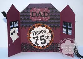 halloween happy birthday pictures a happy birthday haunted house stampin u0027 by genny u0027s blog