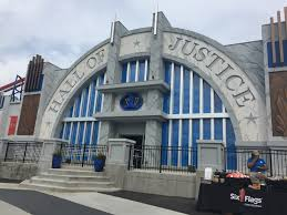 Six Flags Georgia Rides 4d Justice League Ride Provides Family Friendly Thrills At Six