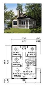 Downsizing Home Plans Time To by Tiny House Plan 49119 Total Living Area 676 Sq Ft 1 Bedroom