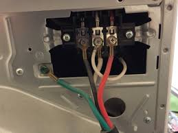 how to change the plug on your dryer to accommodate a 3 or 4