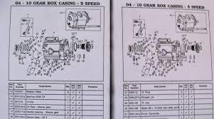 workshop manual s for avl res machismo thunderbird lightening