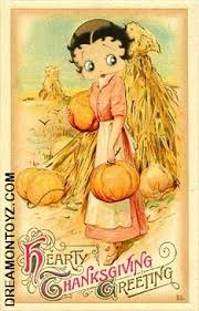 betty boop pictures archive betty boop thanksgiving images