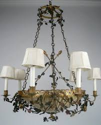 Tole Chandelier Antique Lighting Edward F Caldwell Mark Evers Antiques