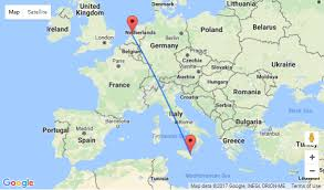 where is amsterdam on a map 7 all inclusive stay in 4 hotel on sicily flights