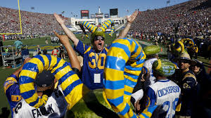 thanksgiving sports schedule get ready for chaos when the rams and chargers host games at the