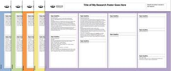 ohio university research research poster templates