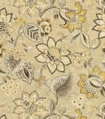 Waverly Upholstery Fabric Iman Upholstery Fabric Madeleine Sepia Ornamental Pattern 2