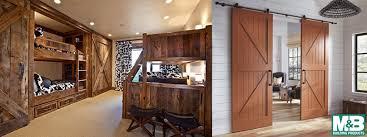 barn doors for homes interior m b barn doors m b building products