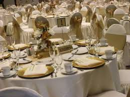 50th anniversary centerpieces 50 th anniversary decoration ideas table golden wedding gorgeous