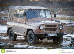 uaz jeep uaz 469 soviet 4x4 car editorial stock image image 50737559