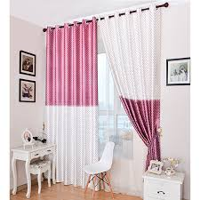 Pink Curtains For Sale On Sale Pink Purple White Polyester Blackout Star Curtains