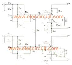 7 1 home theater circuit diagram tda2050 amplifier stereo 35w 75w