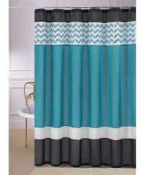 teal shower curtain foter