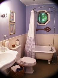 Polished Nickel Curtain Rods Wonderful Small Bathroom Ideas Decor Using Freestanding Bathtubs