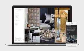 katherine pooley interior designer web site and e commerce