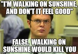 Funny Feel Good Memes - dwight schrute meme imgflip