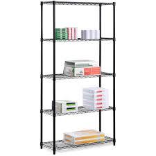 Shelves by Seville Classics Home Style 5 Shelf Ultrazinc Steel Wire Shelving