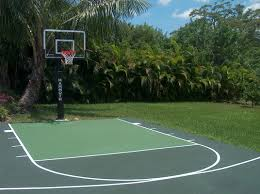 Outdoor Basketball Court Cost Estimate by Basketball Court Construction Asphalt Basketball Court