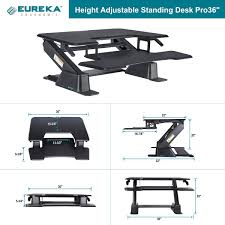 amazon com eureka ergonomic next generation height adjustable