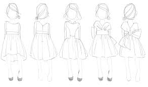 free library of childrens apparel flat sketches for fashion at