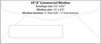 envelope templates commercial window envelope template wsel