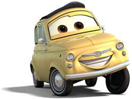 cars characters yellow image luigi cars png pixar wiki fandom powered by wikia