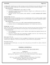 Entry Level Bookkeeper Resume Sample Job Resume Example Example Resume And Resume Objective Examples