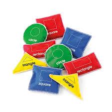 buy colour and shape beanbag set 18pcs tts