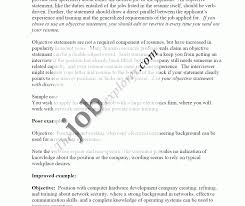 Good Objective Statements For Resumes Berathen Com - objective statement resume and get ideas to create your with the