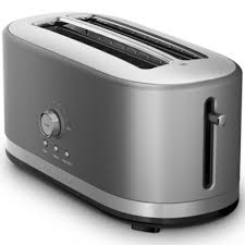 Kitchenaid 4 Slice Toaster Red Kitchenaid 4 Slice Long Slot Toaster Kmt4166 Kmt4166ob Jcpenney
