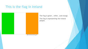 Green White Orange Flag Christmas In Ireland By Kellie Hicks Jazmin Lopez Teniyah