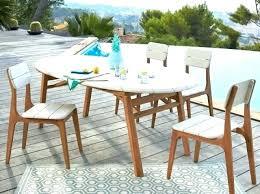 ensemble table chaise ensemble table et chaise de jardin en resine pas cher ensemble table