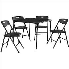 5 piece card table set appealing cosco 5 piece card table set ideas best image engine