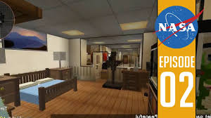 Minecraft Bedroom Furniture Real Life by Bedroom And Tank Room Space Astronomy Minecraft Mod Youtube