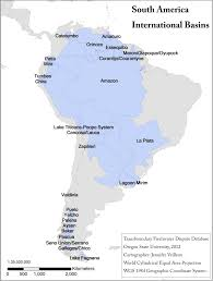 South America River Map by International Water Law Project Blog Blog Archive Dr Maria
