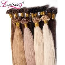 glue extensions u nail tip hair extensions pre bonded keratin glue fusion hair