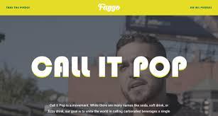 Pop Vs Soda Map Faygo U2013 Call It Pop One Page Website Award