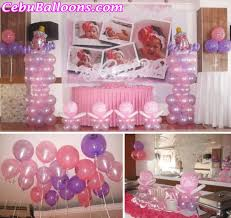Centerpieces For Baptism Christening Cebu Balloons And Party Supplies